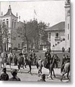 Buffalo Bill Columbian Exposition 1893 Metal Print