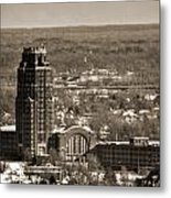 Buffalo Central Terminal Winter 2013 Metal Print