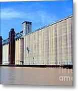 Buffalo Grain Mill Metal Print