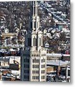 Buffalo Ny Electric Building Winter 2013 Metal Print