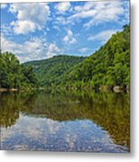Buffalo River Majesty Metal Print by Bill Tiepelman