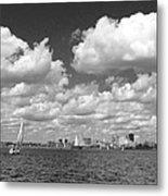 Buffalo Skyline Metal Print