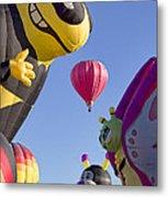 Bug Balloons Waiting To Fly Metal Print