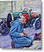 Bugatti-angouleme France Metal Print by Derrick Higgins