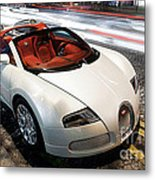 Bugatti Is Art In Motion  Metal Print