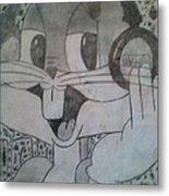 Buggs Bunny Metal Print