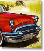 Buick Automobile Metal Print by Robert Smith
