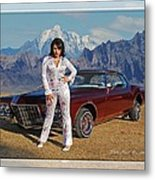 Buick Riviera Lowrider Metal Print