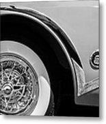 Buick Skylark Wheel Emblem Metal Print
