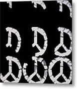 Build Up Peace Metal Print