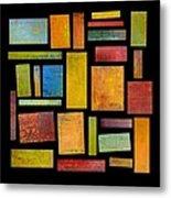 Building Blocks Four Metal Print