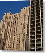Building Blocks Metal Print