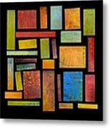 Building Blocks Three Metal Print