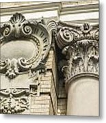 Building Trim Metal Print