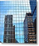 Building With In A Building Metal Print