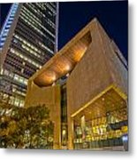 Buildings And Architecture Around Mint Museum In Charlotte North Metal Print