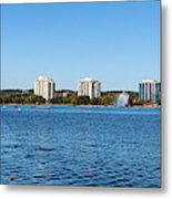 Buildings At The Waterfront, Kempenfelt Metal Print