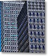 Buildings Downtown Pittsburgh Metal Print