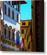 Buildings In Florence Italy Metal Print