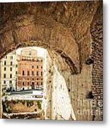 Buildings Of Rome V Metal Print