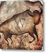 bull a la Altamira Metal Print