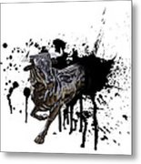 Bull Breakout Metal Print by Daniel Hagerman