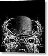 Mr. Bulldog Metal Print