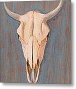 Bullskull No.3 Metal Print