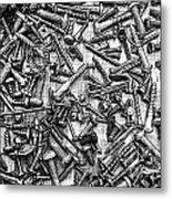 Bunch Of Screws 3- Digital Effect Metal Print