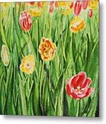 Bunch Of Tulips II Metal Print