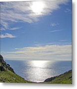 Bunglass Donegal Ireland - Seascape Metal Print