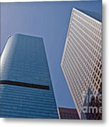 Bunker Hill Financial District California Plaza Metal Print