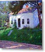 Bunker's Roadside Cottage Metal Print