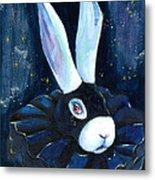 Bunny Blues Metal Print