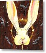 Bunny Yolo Metal Print