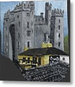 Bunratty Castle And Durty Nellys Metal Print