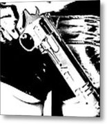 Bunslinger Metal Print
