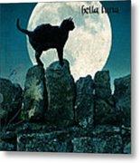 Buona Sera Bella Luna Metal Print