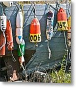 Buoy Hang Out Metal Print