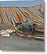 Buoy Spill Metal Print