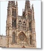 Burgos Cathedral Spain Metal Print