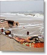 Buried Treasure On The Outer Banks I Metal Print by Dan Carmichael