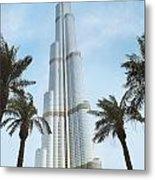 Burj Khalifa Metal Print by Jelena Jovanovic