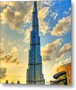 Burj Khalifa Metal Print by Syed Aqueel