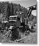 Burke Idaho Logging Truck 2 Metal Print