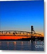 Burlington Bristol Bridge Metal Print