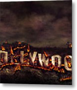 Burn This City Metal Print by Anthony Citro