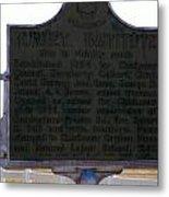 Burney Institute Historical Sign Metal Print