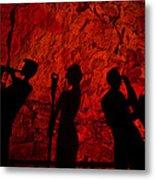 Burnin' Down The House Metal Print by Kenan Sipilovic