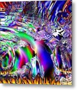Burnin Up The Galaxy Metal Print by Bobby Hammerstone